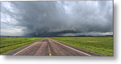 Into The Storm Metal Print by Sebastien Coursol