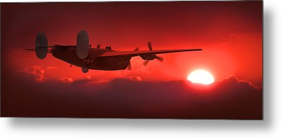 Into The Sun Metal Print by Mike McGlothlen