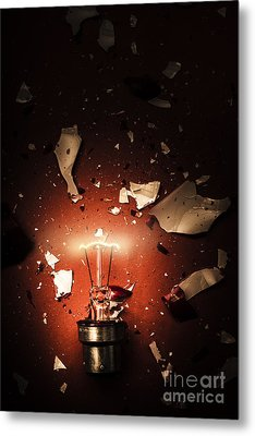 Intrinsic Obsolescence. Broken Idea By Design Metal Print