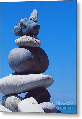 Inukshuk 1 By Jammer Metal Print by First Star Art