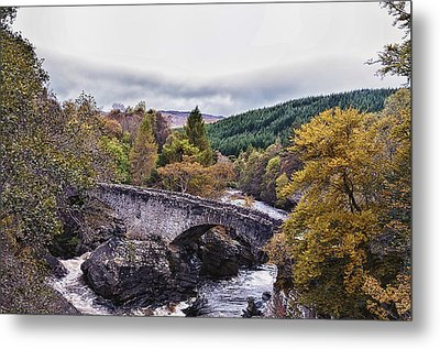 Invermoriston Bridge Metal Print