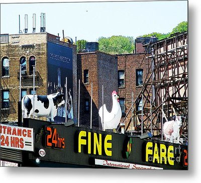 Inwood Farm Metal Print by Sarah Loft