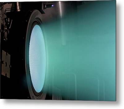 Ion Thruster Metal Print by Nasa/christopher J. Lynch (wyle Information Systems, Llc)