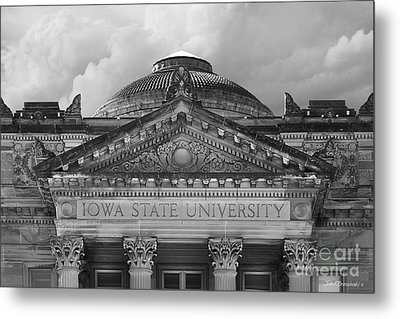 Iowa State University Beardshear Hall Metal Print by University Icons