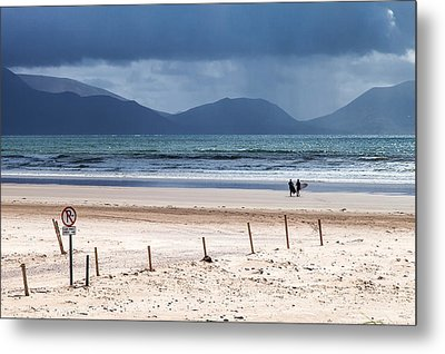 Ireland - Inch Beach Metal Print by Juergen Klust
