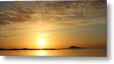 Irelands Eye At Dawn Metal Print