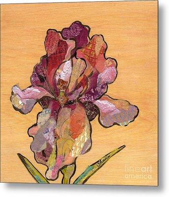 Iris II - Series II Metal Print by Shadia Derbyshire