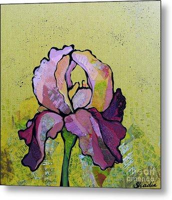 Iris IIi Metal Print