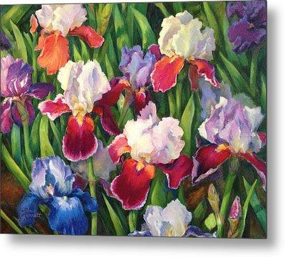 Irises2 Metal Print