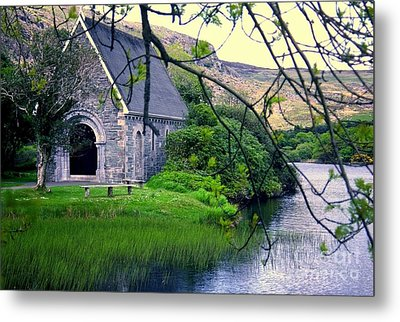 Irish Chapel Metal Print by Ranjini Kandasamy