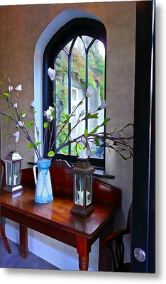 Metal Print featuring the photograph Irish Elegance by Charlie and Norma Brock