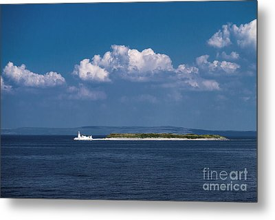 Irish Lighthouse  Metal Print by Juergen Klust