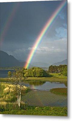 Metal Print featuring the photograph Irish Rainbow by Jane McIlroy
