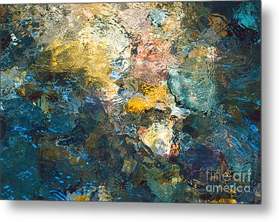 Iron Creek Bottoms Metal Print by Rich Collins