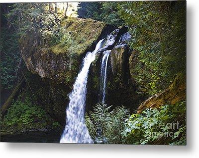 Iron Creek Falls Metal Print by Rich Collins