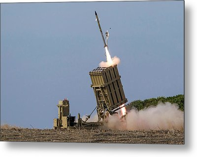 Iron Dome Metal Print