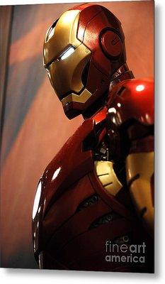 Iron Man Metal Print by Micah May