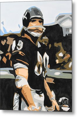 Iron Mike Ditka Metal Print by Steven Dopka