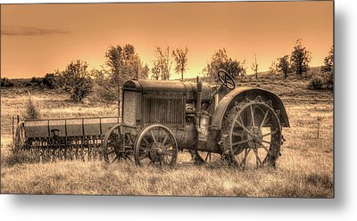 Iron Workhorse Metal Print