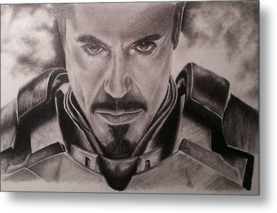Ironman Metal Print by Jamie Blackbourn