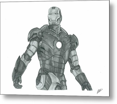 Ironman Metal Print by Rich Colvin