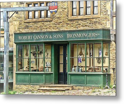 Ironmongers In Candleford Metal Print by Paul Gulliver