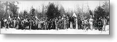 Iroquois Group C1914 Metal Print by Granger