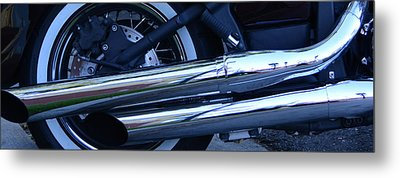 Metal Print featuring the photograph Is There Any Other Way To Travel I Don't Think So by Renee Anderson