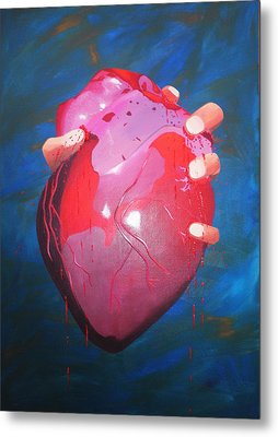 Is This Love? Metal Print by Aileen Carruthers