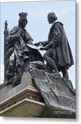 Isabella And Columbus Metal Print by Phil Banks