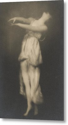 Isadora Duncan   Dancer Metal Print by Arnold Genthe