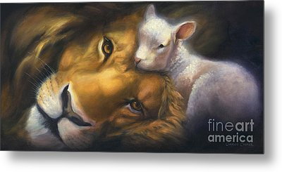 Isaiah Metal Print by Charice Cooper