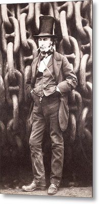 Isambard Kingdom Brunel  Metal Print by Robert Howlett