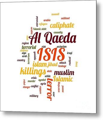 Isis Metal Print by Henrik Lehnerer