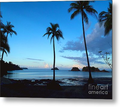 Isla Secas Metal Print by Carey Chen