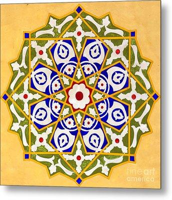 Islamic Art 09 Metal Print by Antony McAulay
