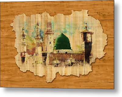 Islamic Calligraphy 040 Metal Print by Catf