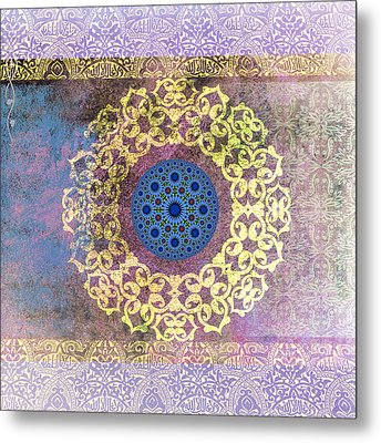 Islamic Motive Metal Print by Corporate Art Task Force