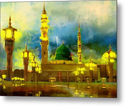 Islamic Painting 002 Metal Print by Corporate Art Task Force