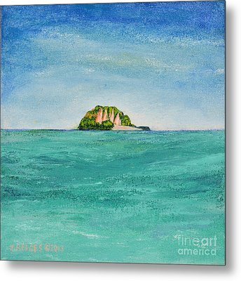 Island For Two Metal Print
