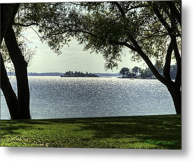 Metal Print featuring the photograph Island Home by Robert Culver