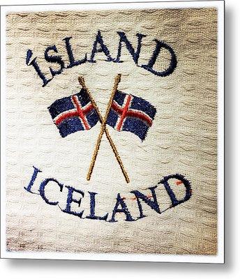 Island Iceland Metal Print by Matthias Hauser