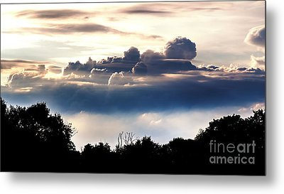 Island Of Clouds Metal Print
