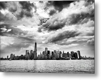 Island Of Manhattan 2013 Metal Print by John Rizzuto