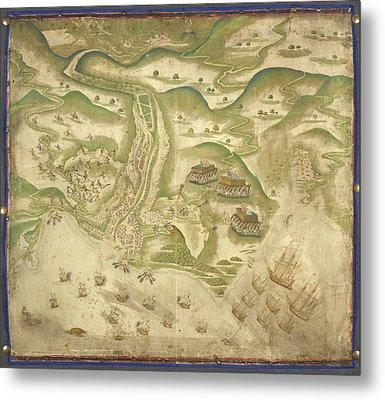 Island Of St Jago Metal Print by British Library