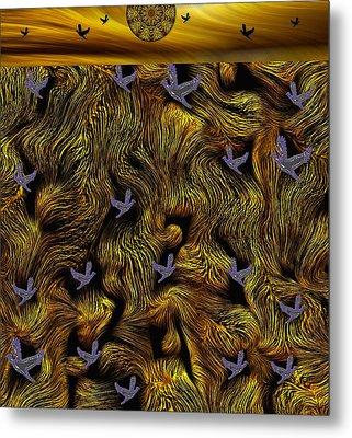 Island Of The Paradise Birds Metal Print by Pepita Selles