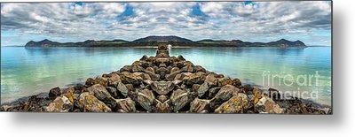 Island Rocks Metal Print by Adrian Evans