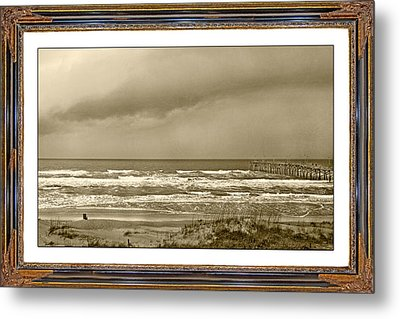 Island Storm Metal Print by Betsy Knapp
