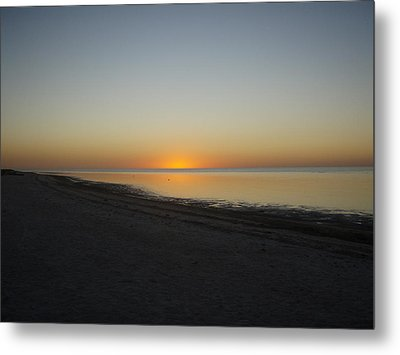 Metal Print featuring the photograph Island Sunset by Robert Nickologianis