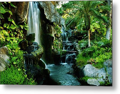 Island Waterfall Metal Print by Craig Wood